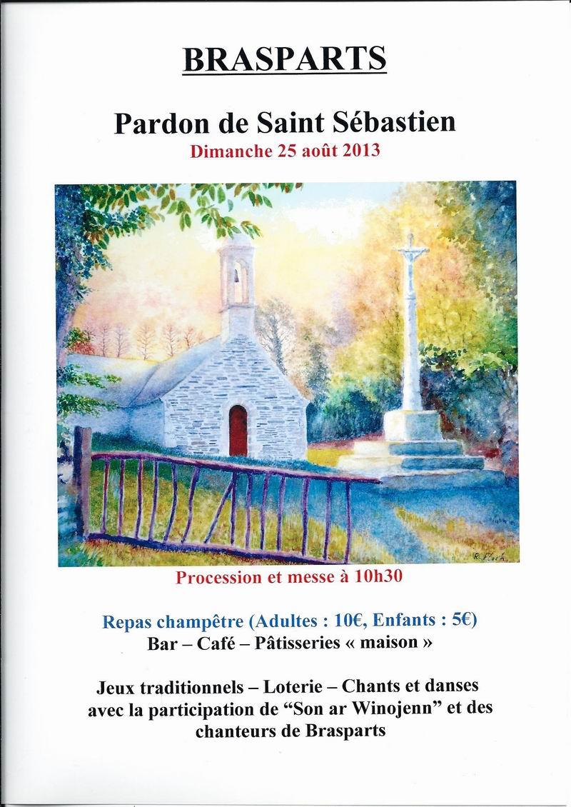 Pardon de Saint Sébastien 2013 Affich10
