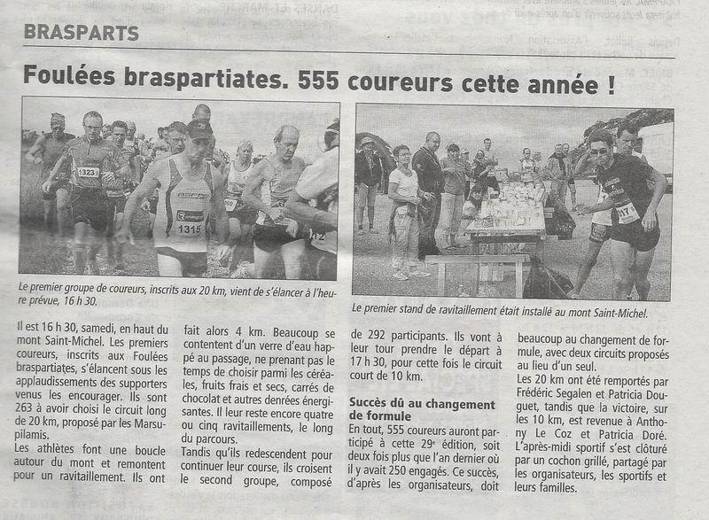 Foulées de Brasparts 2013 Foulae10