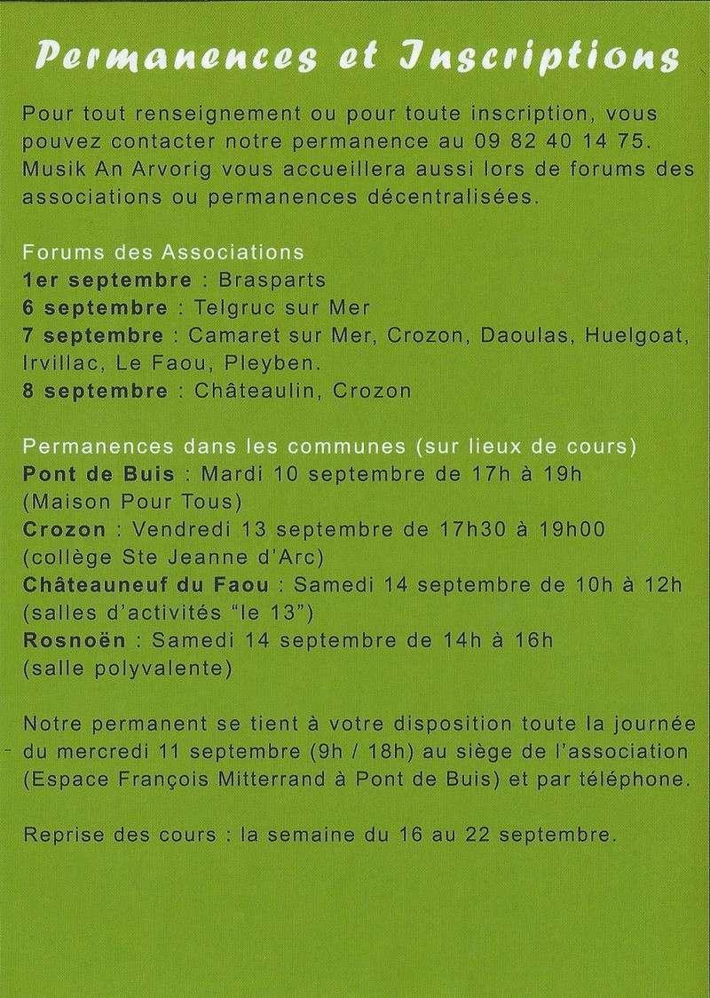 Forum des Associations le 1er septembre 2013 Musiqu12