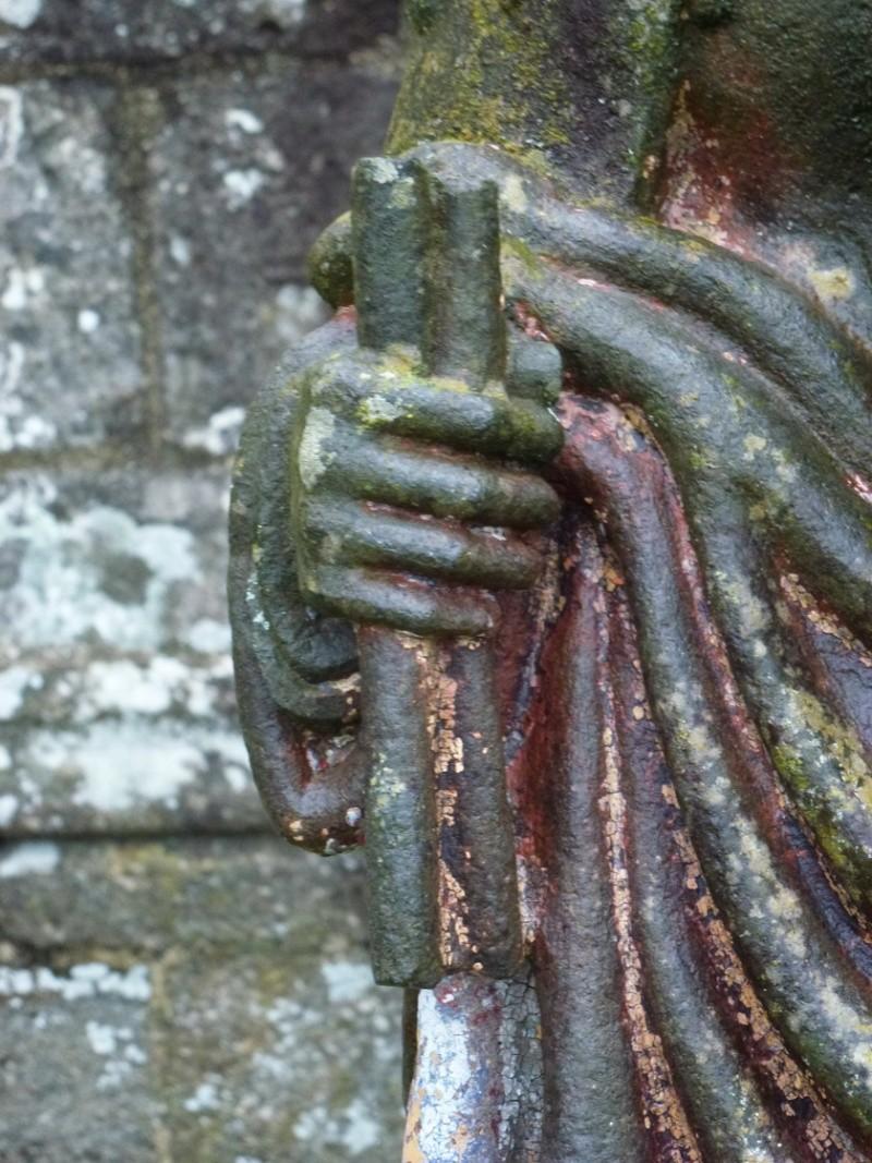 La statue de Sainte Apolline, à Brasparts P1040911