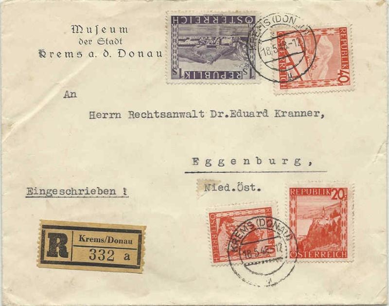 Orange Landschaft Österreich - Belege - Seite 6 19480510