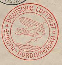nach - Gefälschter Zeppelinbrief 320