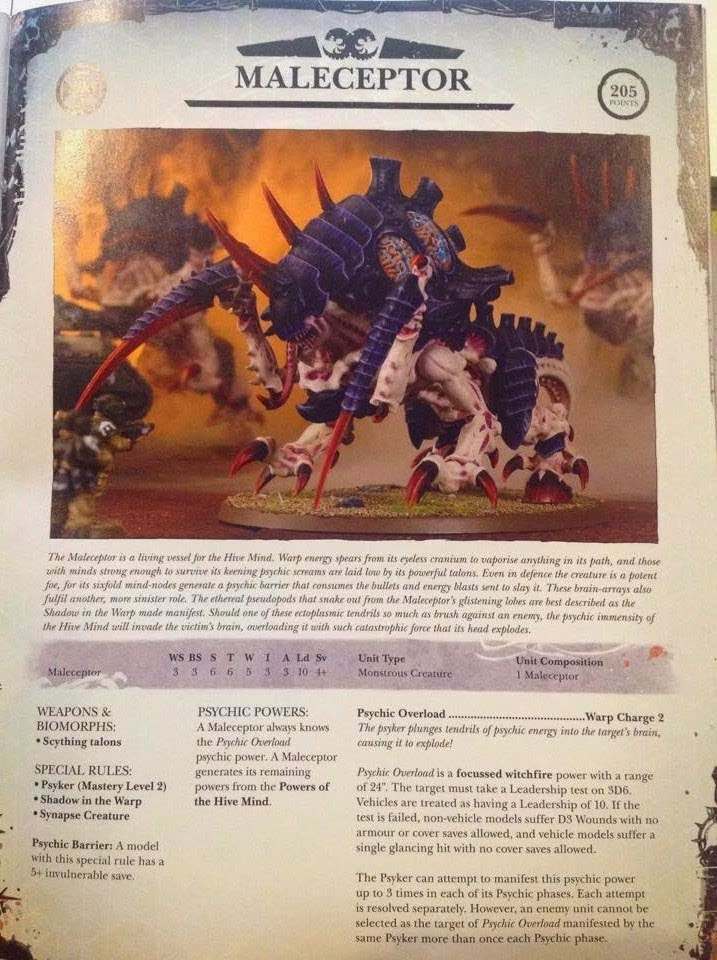 Tyranides : le retour - Page 2 Malece10