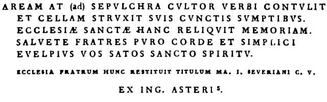 Rome souterraine. - Page 2 Page_714