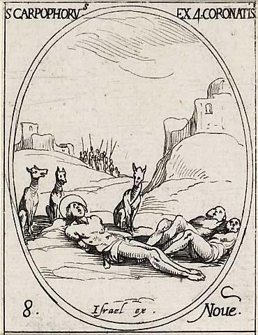 Les Quatre Saints couronnés. martyrs 1108qu10