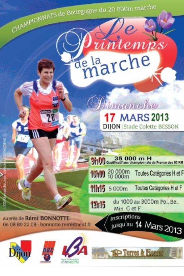 Le Printemps de la Marche les 16 et 17 mars 2013 à DIJON. Photo13