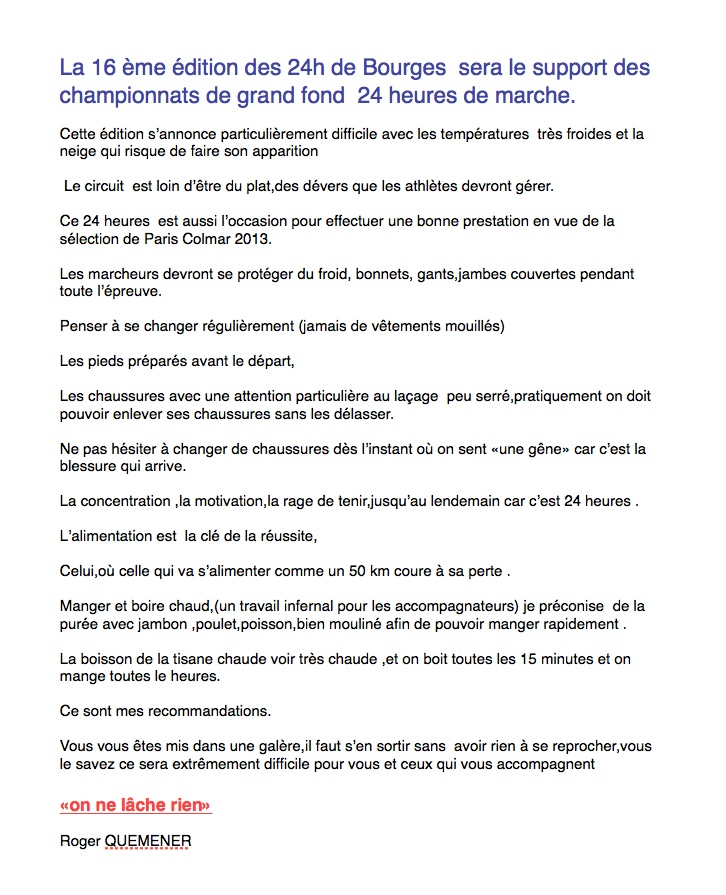 24 heures de Bourges les 23 et 24 février 2013 et les 2x6 h Texte_10