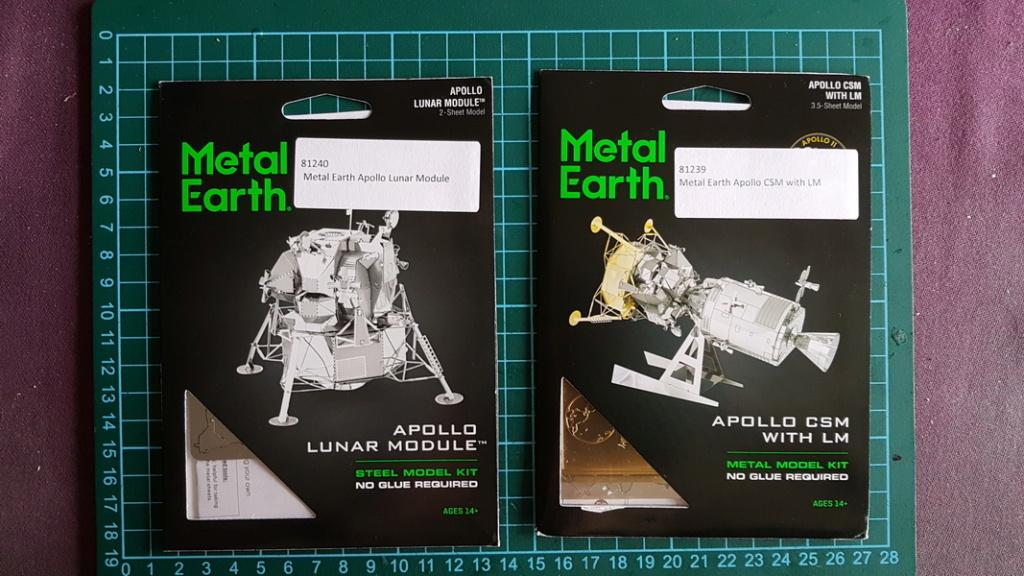 Apollo - le module lunaire & CSM 20190811