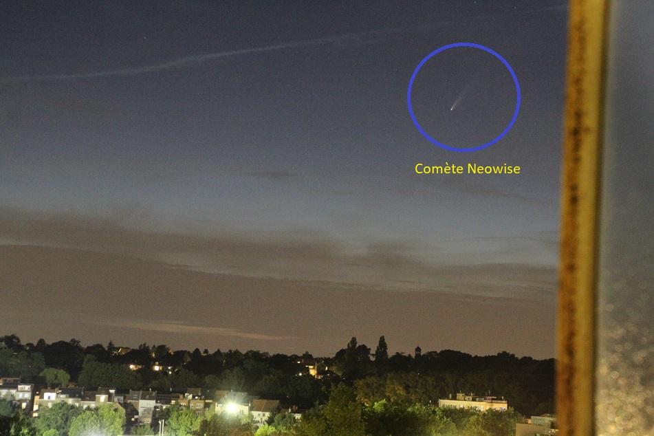 |||| Astro News ||| : Passage de la comète Neowise Comzot11