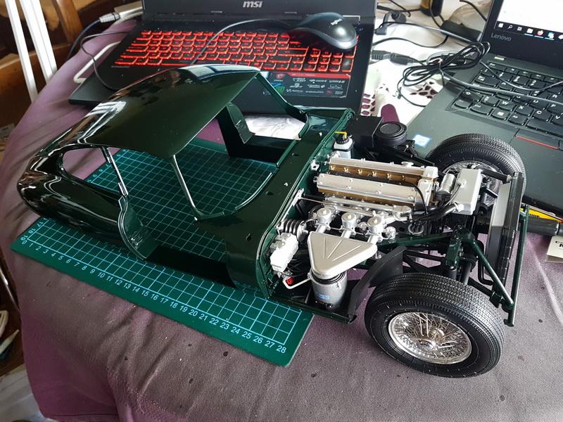 La Jaguar de type E par Altaya - Page 4 Jaguar45