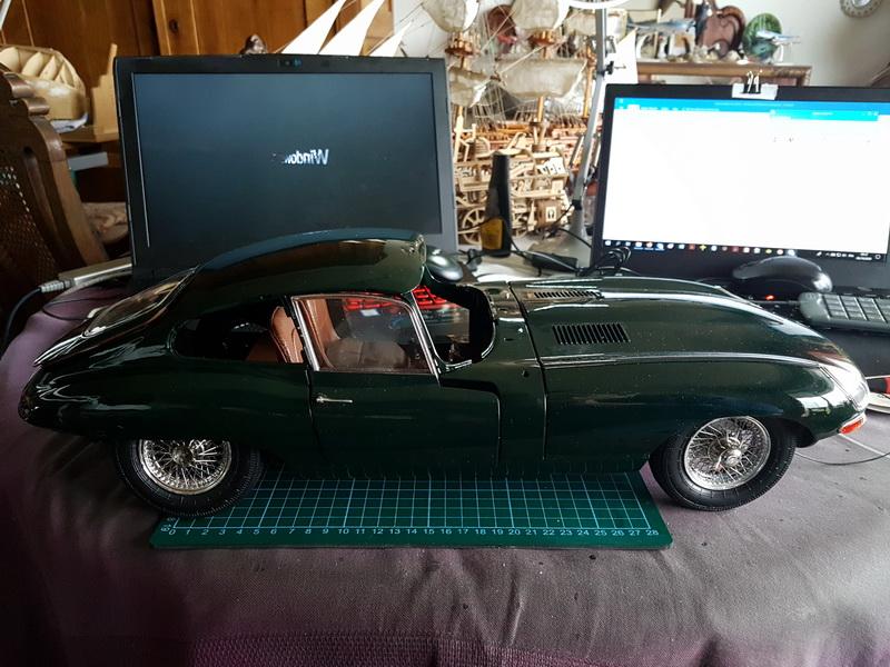 Maquettes construites en 2020 Jaguar58