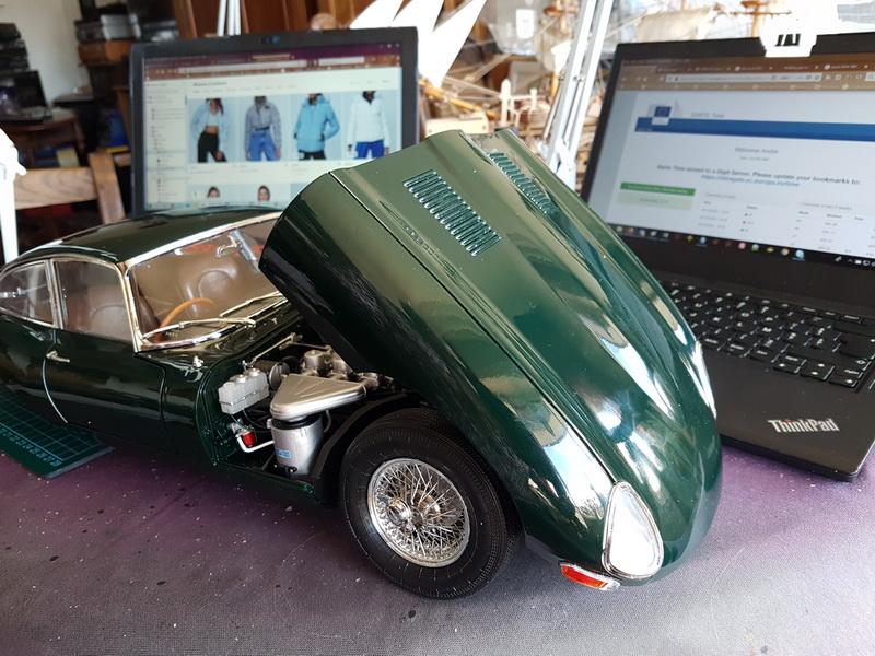 La Jaguar de type E par Altaya - Page 5 Jaguar65
