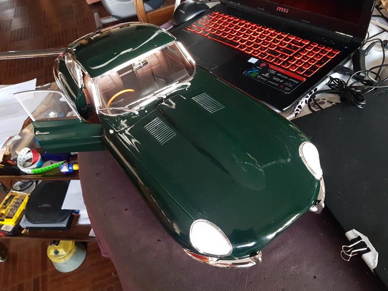 La Jaguar de type E par Altaya - Page 5 Jaguar67