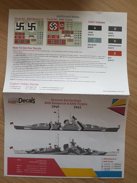 Le Brusselaire assemble le Bismarck Hachette au 1/200 - Page 3 Label_11