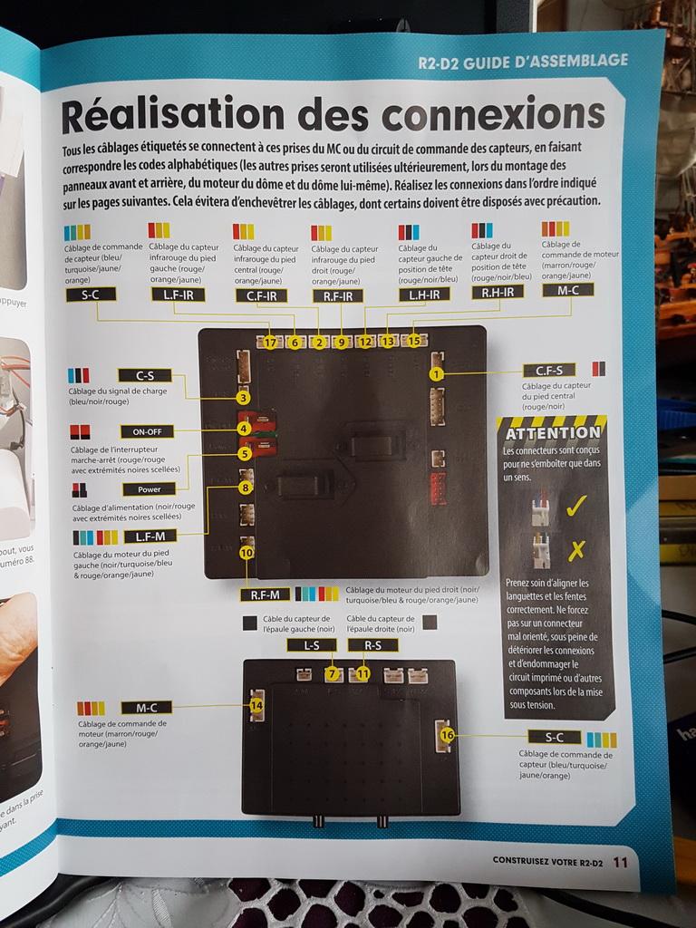 La construction de R2D2 d'Altaya - Page 7 M059_p11