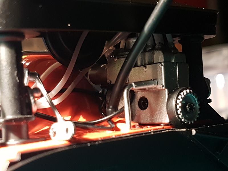La construction de la porsche 911 Carrera d'Altaya au 1/8 ème Porsch16