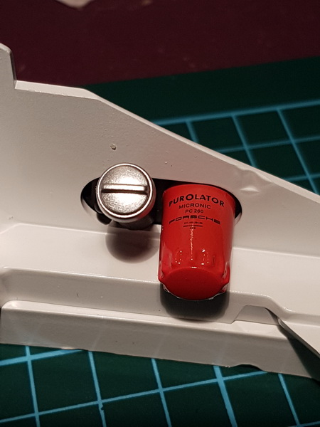 La construction de la porsche 911 Carrera d'Altaya au 1/8 ème Porsch19