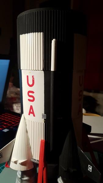Montage de la fusée Saturn V pour le vol Apollo 11 - Page 6 Probzo13