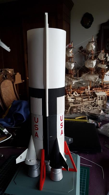 Montage de la fusée Saturn V pour le vol Apollo 11 - Page 6 Probzo18