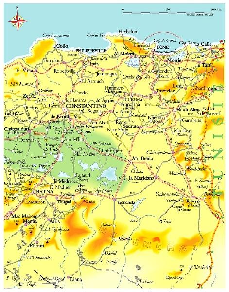 [Aéronavale divers] Base aériennes utilisées par l'aéronavale en Algérie... Carteb10