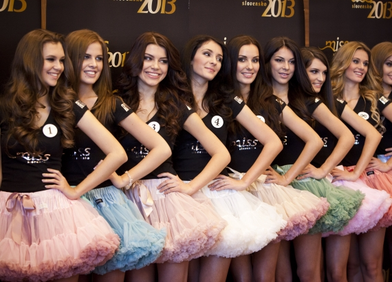 Road to Miss Slovensko 2013 - meet the contestants 19673510