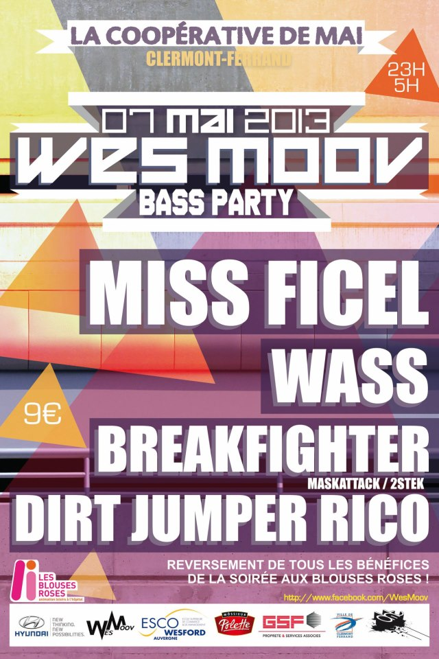 WES MOOV' BASS PARTY 42956210