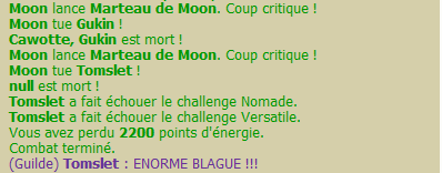 Chance de coco ? Ah merde, on dirait que non... Moon10