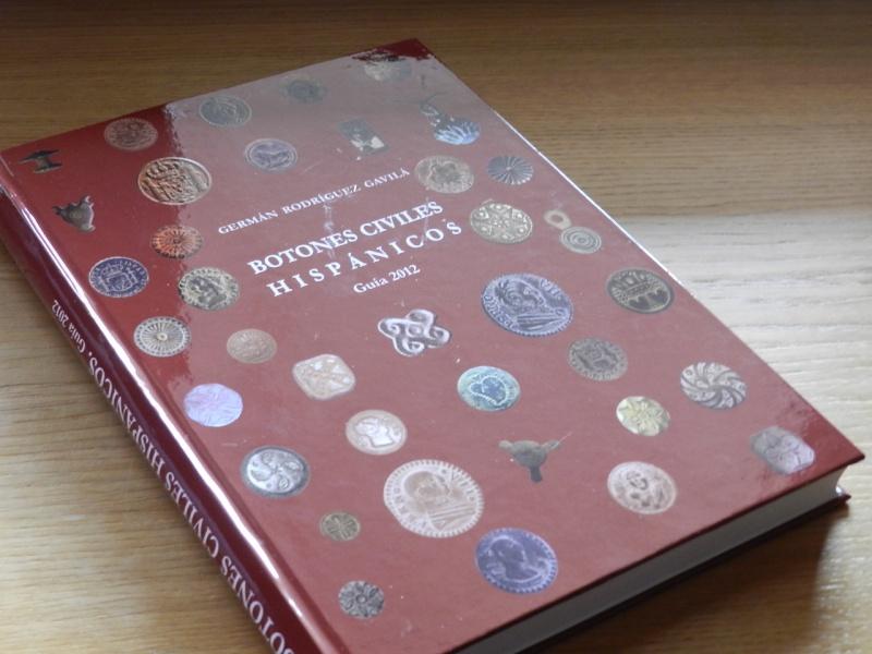 Libro «Botones Civiles Hispánicos» de Rodríguez Gavilá Portad10