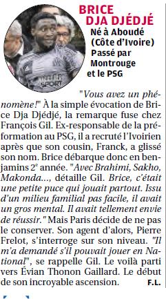 Brice Dja Djédjé. Lateral Ivoirien 23 ans, formé au... PSG - Page 2 8a10