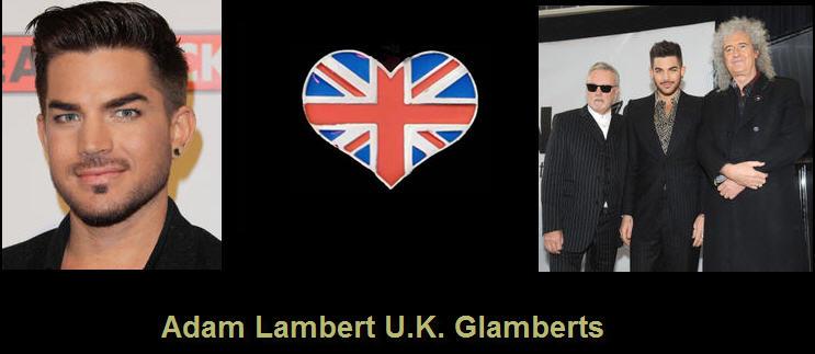 Adam Lambert UK Glamberts - Portal D10