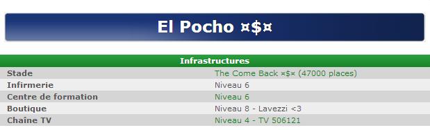 Présentation El Pocho ¤$¤ Infras10