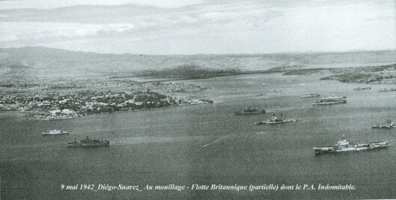 5 novembre 1942 : Madagascar capitule. Les Alliés trouvent Madagascar au bord de l'asphyxie économique. 1942_510