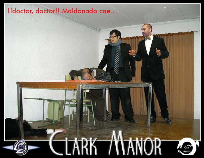 Rol en vivo: CLARK MANOR 2 de Marzo del 2013 Muerte11