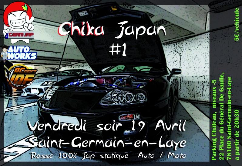 [TeamJap IDF] Chika Japan #1 . Vendredi 19 Avril 2013 Affich11