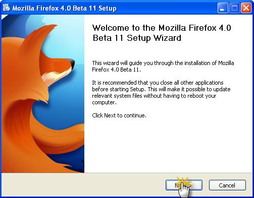 حصريا عملاق التصفح العملاق الذي يعشقه الملايين Mozilla Firefox 4.0 Beta 11 تحميل مباشر وعلى أكثر من سيرفر 08-02-11
