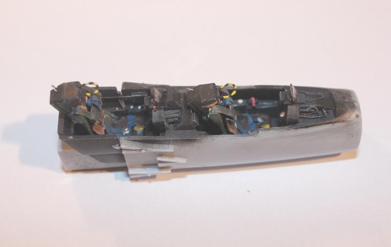 Australian Mirage III D (HELLER  1/48) Img_8110