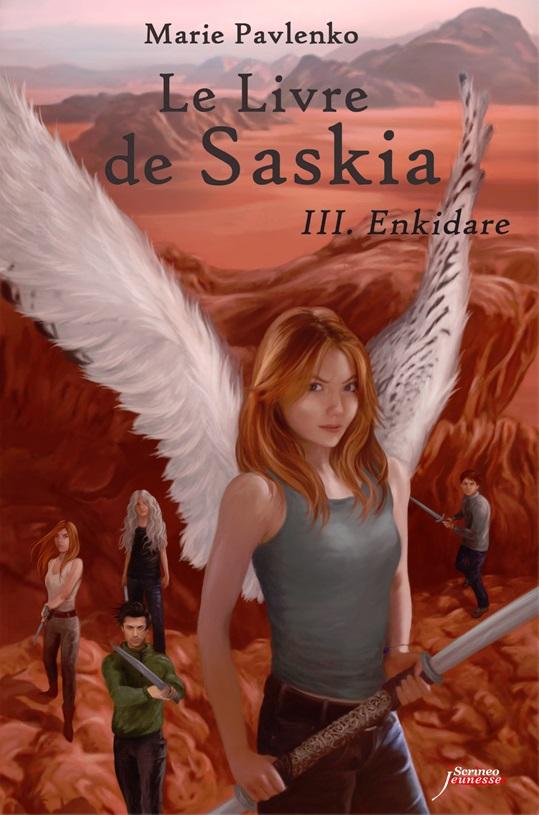 [Scrineo] Le Livre de Saskia tome 3 : Enkidare de Marie Pavlenko Couv_u11