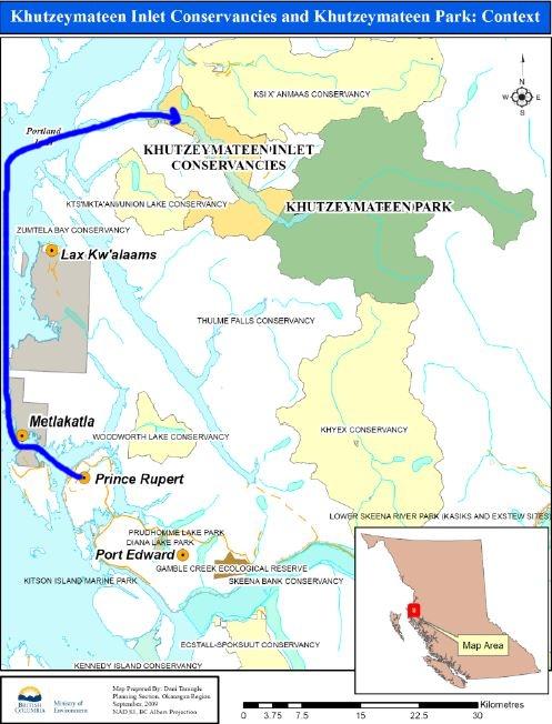 2013 Amérique du Nord:  Partie 1: Niagara Falls - Prince Rupert - Passage Intérieur Khutze12