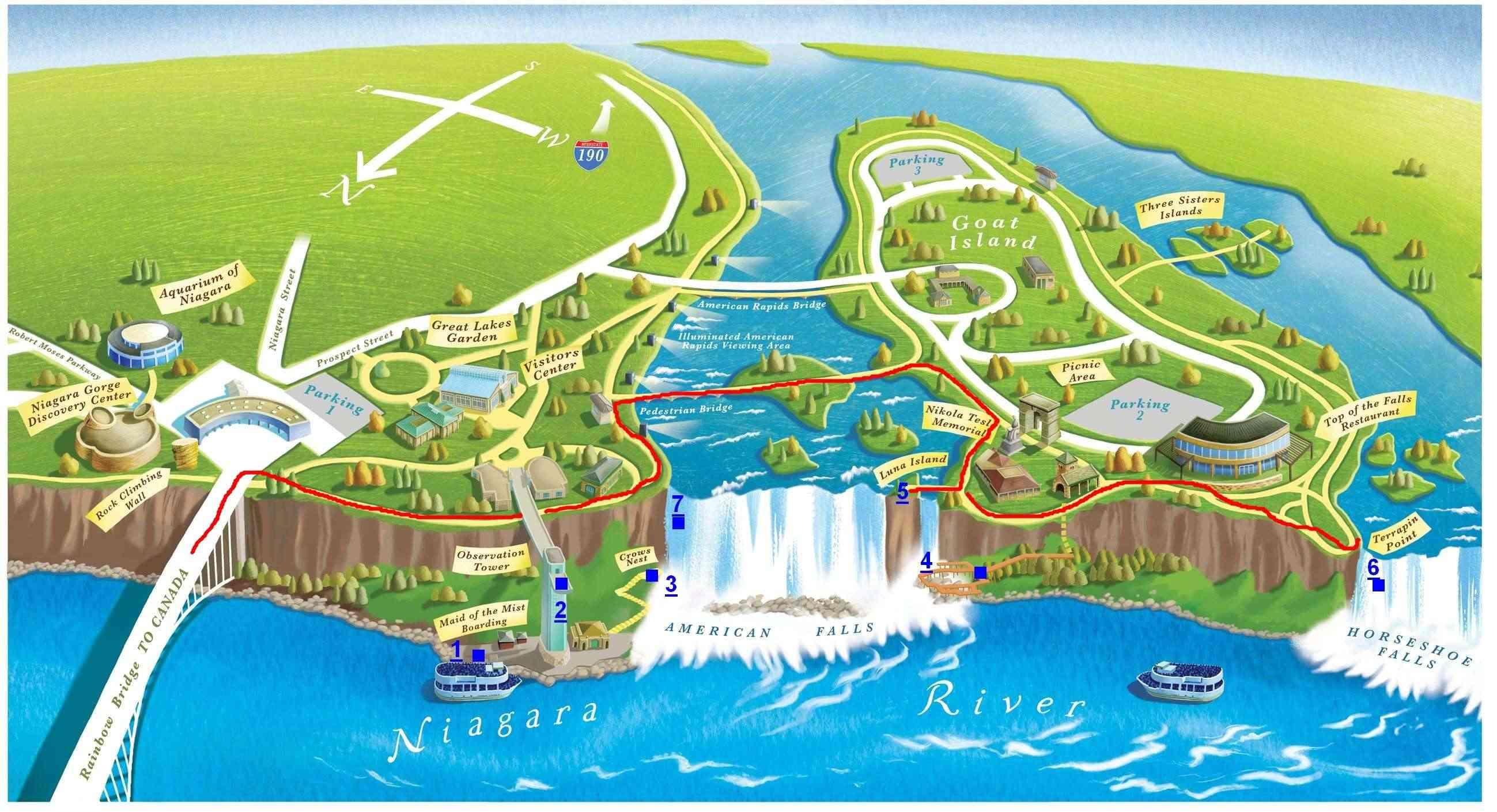 2013 Amérique du Nord:  Partie 1: Niagara Falls - Prince Rupert - Passage Intérieur Niagar11