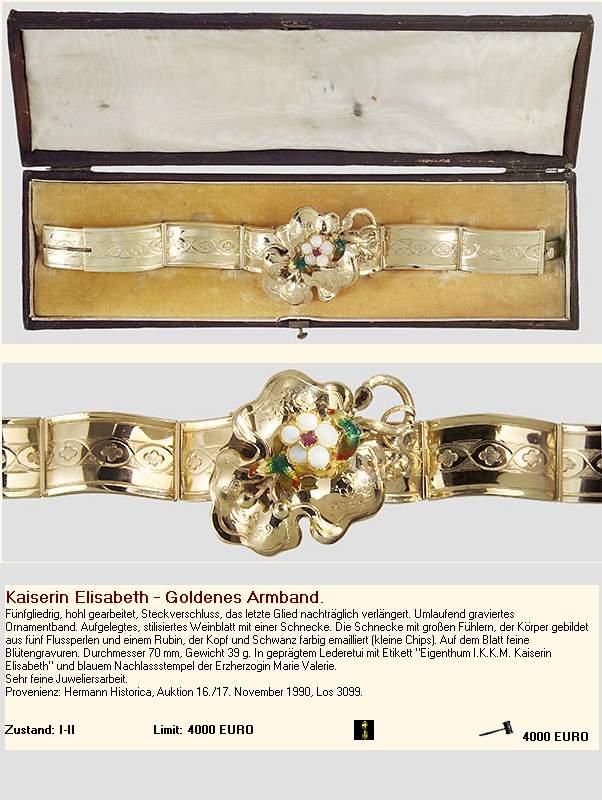 les bijoux de l'impératrice Sissi 0191110