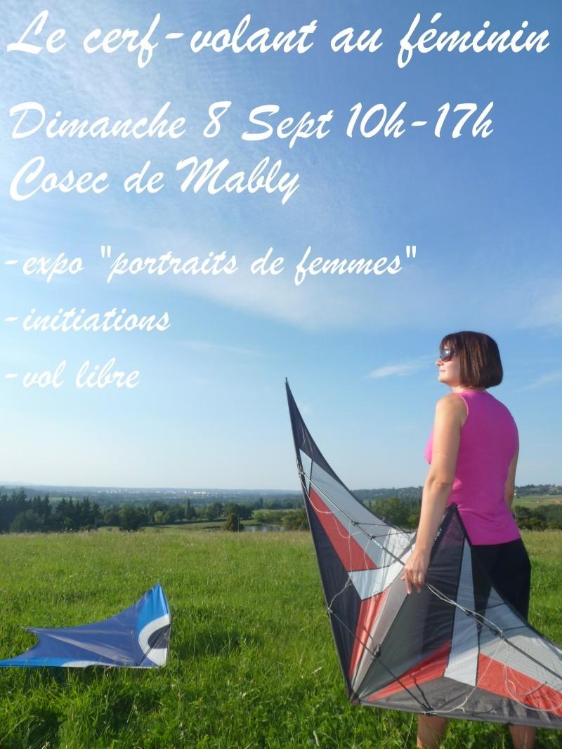 2013 / Vol Libre à Mably: le CV au feminin / Dimanche 8 septembre Affich10