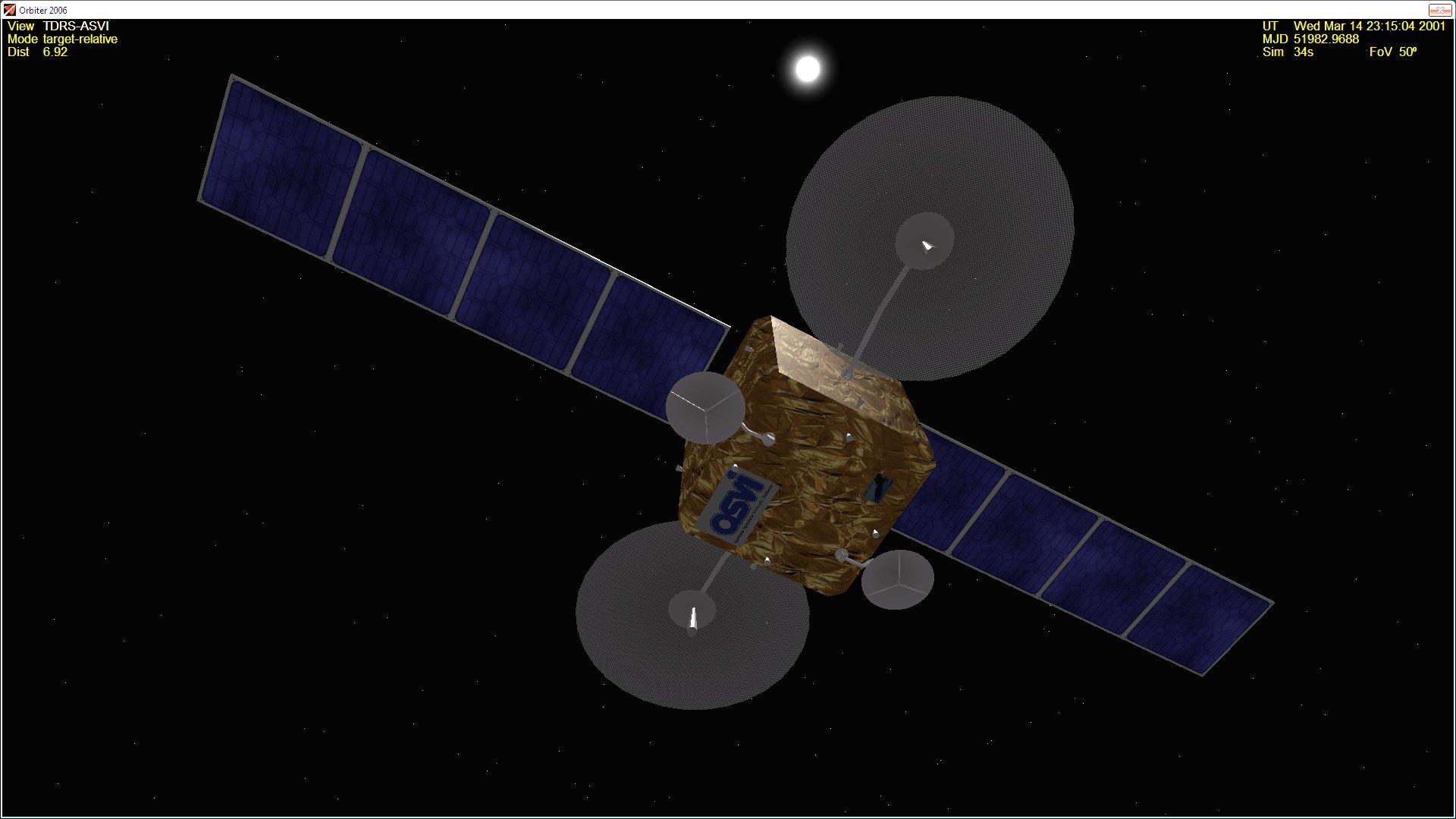 SPACE - Plugin per Space Network Tdrs-a10