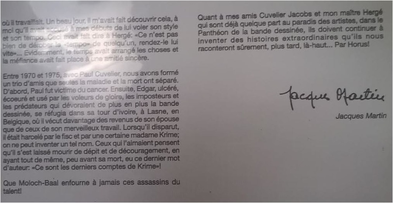 Interview, fanzines et articles divers sur Jacques Martin - Page 4 Jacobs11