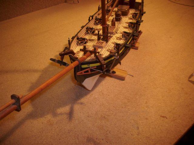 Restaurierung-HMS-Sharke Englischer Kriegskutter in 1:50 Dsci1121
