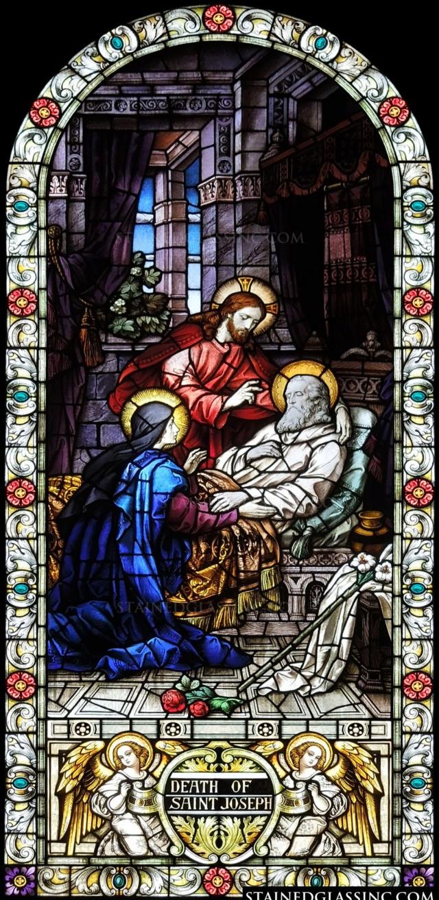 Saint Joseph, Époux de la Vierge Marie ( 19 mars) Mort_d12