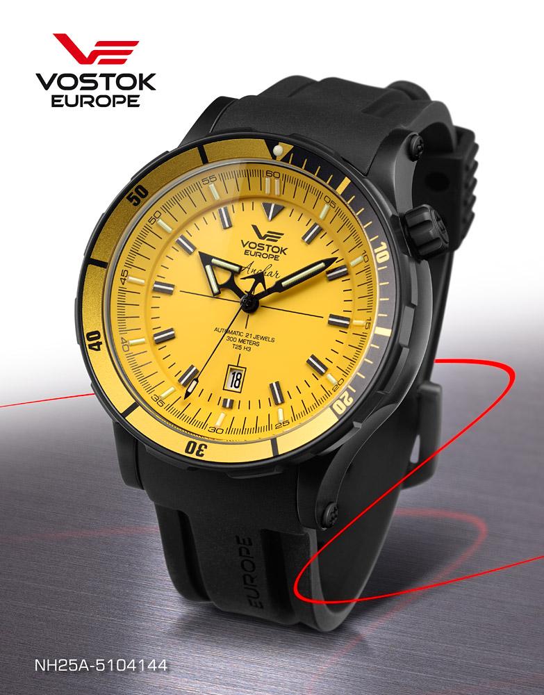 Quelle montre avec cadran jaune ? Nh25a-10