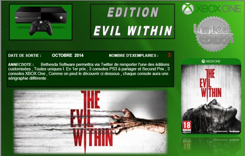 XBOX ONE : Edition THE EVIL WITHIN Evilwi10
