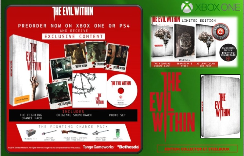 XBOX ONE : Edition THE EVIL WITHIN Evilwi13
