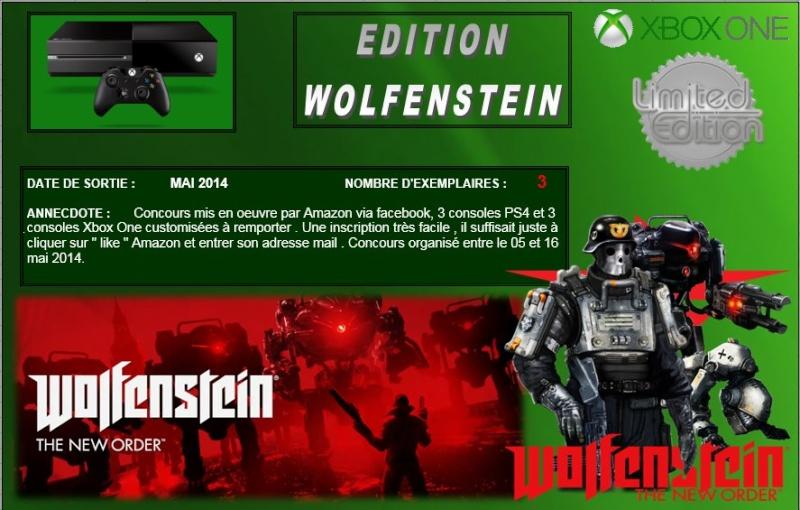 XBOX ONE : Edition WOLFENSTEIN THE NEW ORDER Wolfen10