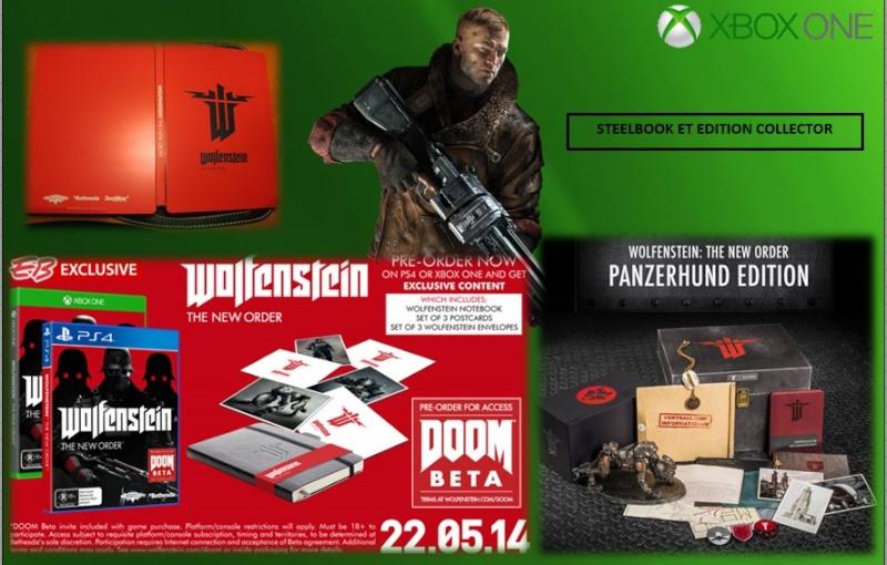 XBOX ONE : Edition WOLFENSTEIN THE NEW ORDER Wolfen13